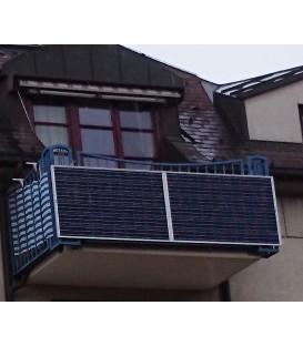 540 Wp Balkonkraftwerk mit normalem Netzstecker zur Hausnetz-Einspeisung